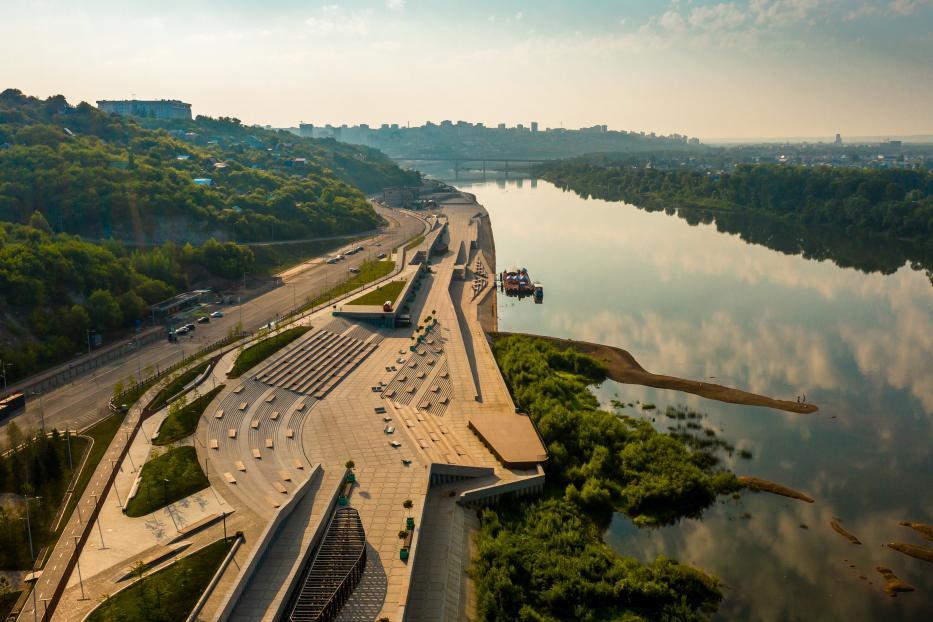 На новой Набережной реки Белой 1 сентября состоится праздничная программа
