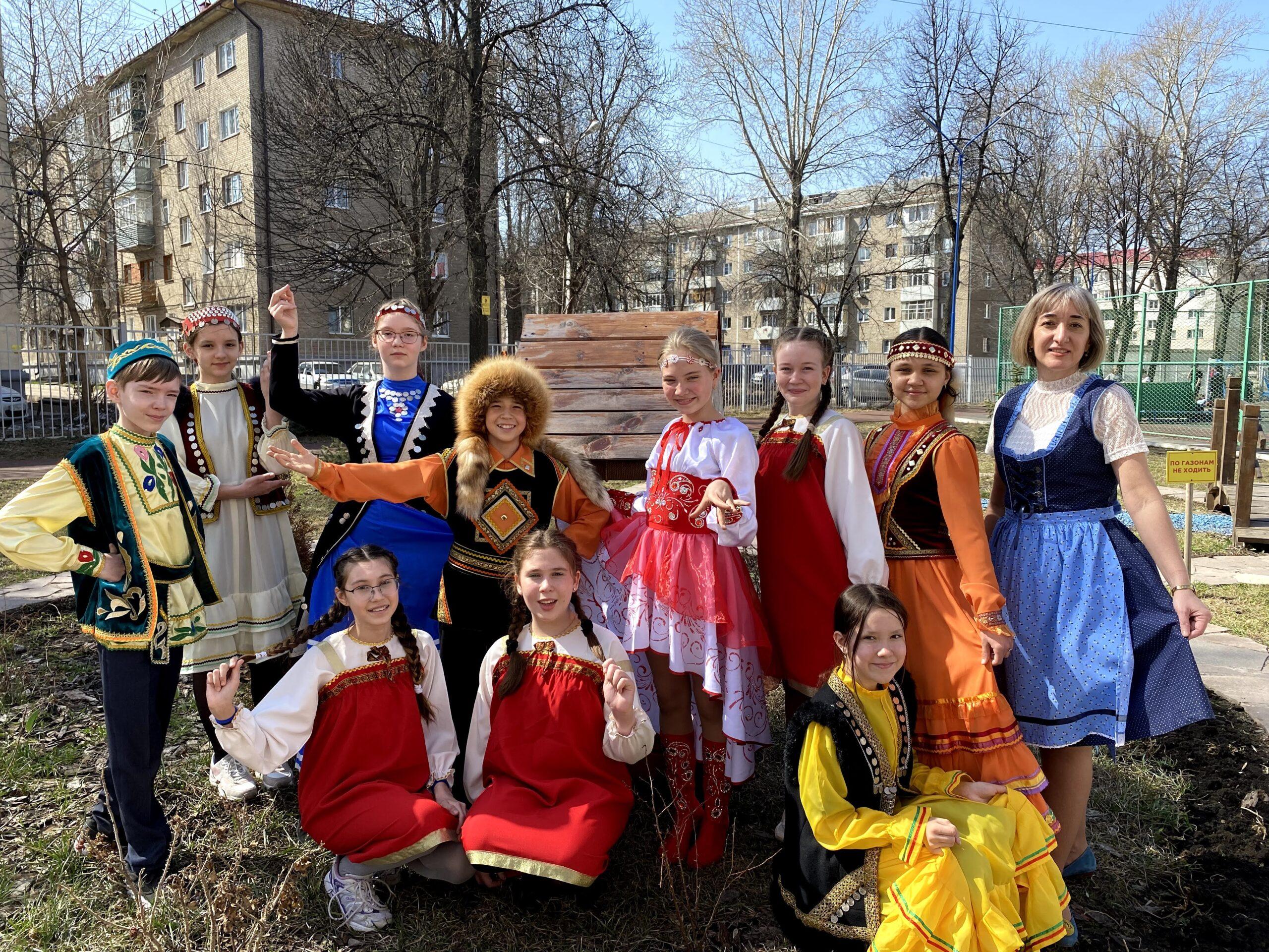 День национального костюма в гимназии